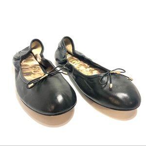 Women's Sam Edelman Black Soft Leather Sz 9M.